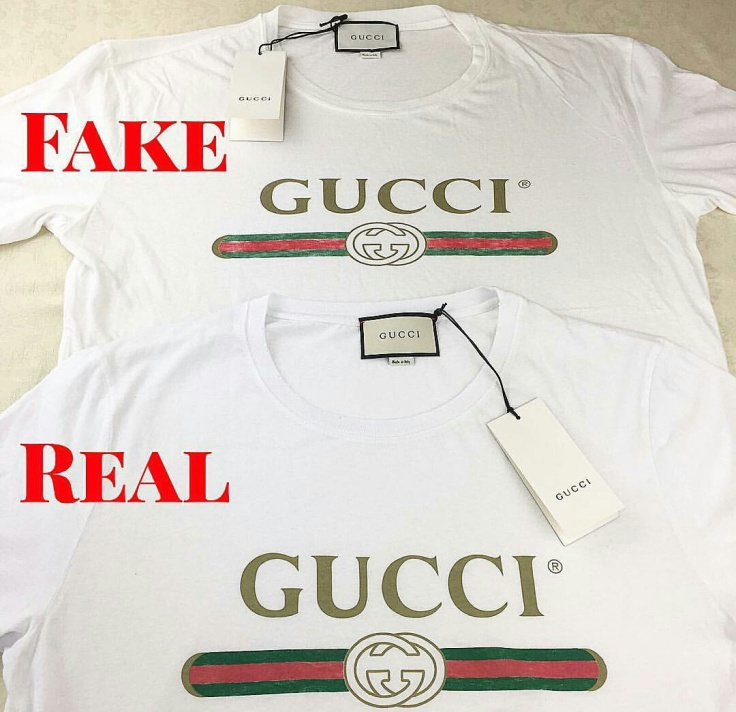 Basic gucci t shirt anyone stuff to talk for Authentic chanel logo t shirt